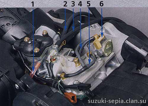 инструкция подачи бензина на мопеде